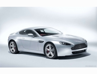 Aston Martin V8 Vantage Coupe 2009 Wallpapers