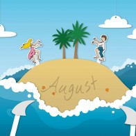 August Summer Wallpapers