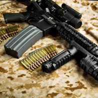 Automatic Rifle Surefire Wallpaper