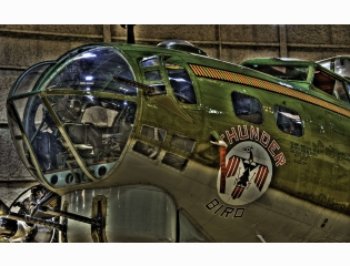 B17g Galveston Air Museum Wallpaper