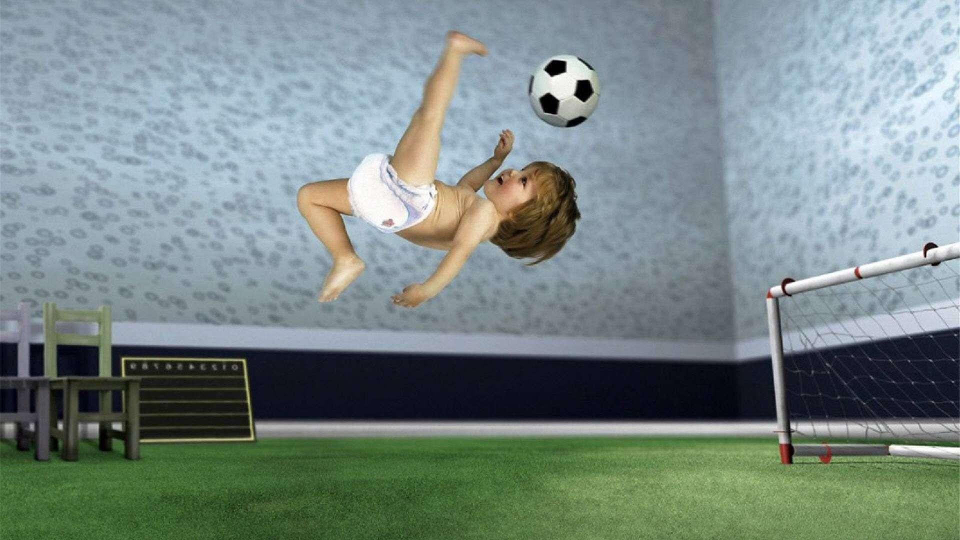Baby Football Wallpapers : Hd Wallpapers