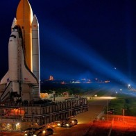 Baikonur Shuttle Launch