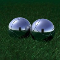 Balls Grass Reflection