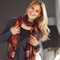 Bar Refaeli Colored Scarf Wallpaper Wallpapers