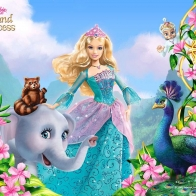 Barbie Island Princess Wallpaper