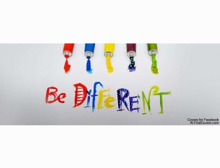 Be Different Cover
