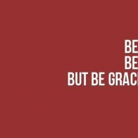 Be Gracious Cover