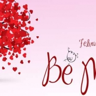 Be Mine Facebook Timeline Cover