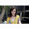 Beautiful Alexis Bledel In Yellow Dress Wallpapers
