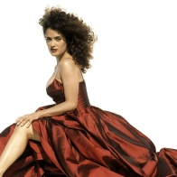 Beautiful Salma Hayek Wallpaper