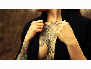 Beautiful Tattoos In Chest