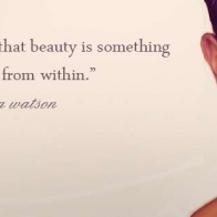 Beauty Is Something That Comes From Within Cover