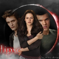 Bella Edward And Jacob Wallpaper
