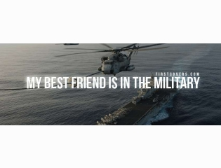 Best Friend Military Cover