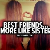 Download best friends more like sisters cover, best friends more like sisters cover  Wallpaper download for Desktop, PC, Laptop. best friends more like sisters cover HD Wallpapers, High Definition Quality Wallpapers of best friends more like sisters cover.