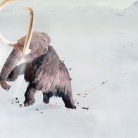 Big Ice Age Mammoth Wallpaper