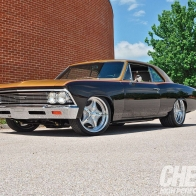 Black Gold Chevelle Wallpaper