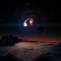 Black Hole Scene Wallpapers