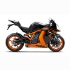 Black Orange Preta Rc8