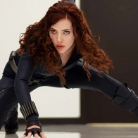 Black Widow Iron Man 2 Wallpaper