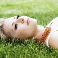 Blonde On The Grass