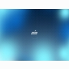 Blue Glass Apple Wallpapers