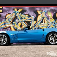 Blue Grand Sport Conv Wallpaper
