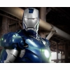 Blue Iron Man Wallpaper