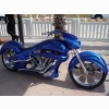 Blue Phantom Harley Chopper Wallpaper