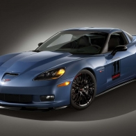 Blue Sports Car Wallpaper