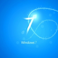 Blue Windows 7 Wallpapers