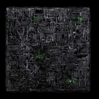 Borg Assimilation Cube Wallpaper