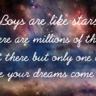 Boys Are Like Stars Cover