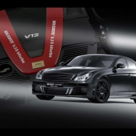 Brabus Rocket Speed Run Wallpaper