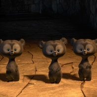 Brave Triplets Bears Wallpapers