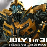Bumblebee In New Transformers 3 Wallpapers