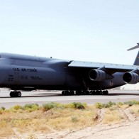 C 5 Galaxy At Balad Air Base Iraq Wallpapers