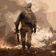 Call Of Duty Modern Warfare Artwork