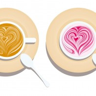 Cappuccino Love Wallpaper