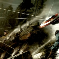 Captain America Cg Fighting
