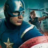 Captain America In Avengers Movie Wallpapers