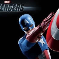 Captain America In The Avengers Wallpapers