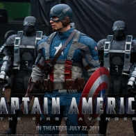 Captain America The First Avenger Wallpaper