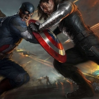 Captain America The Winter Soldier Artwork Wallpapers