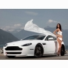 Car Aston Martin V8 Wallpaper