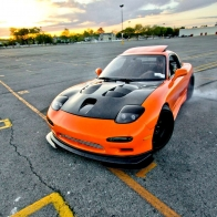 Car Wallpapers Orange Mazda