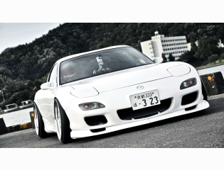Car Wallpapers White Mazda