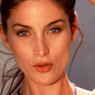 Carrie Anne Moss Lips Wallpaper Wallpapers
