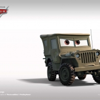 Cars Sarge Wallpaper