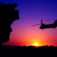 Ch 46 Sea Knight Cargo Helicopter Wallpapers